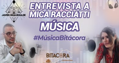 Javier Insaurralde entrevista a Mica Racciatti #MúsicaBitácora