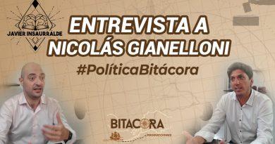 Nicolás Gianelloni y Javier Insaurralde en Política Bitácora
